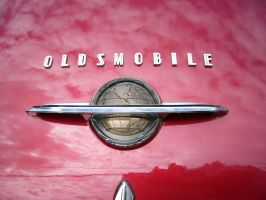 The World According To Oldsmobile In 1950 by RoadTripDog