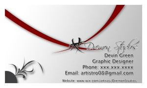 My New Business Card by artrias