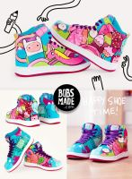 Candy people Sneaker by Bobsmade