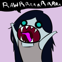 Vamp Rawr by WaywardDoodles