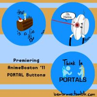 Portal Buttons by gwingangel
