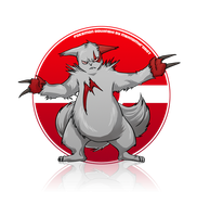 Zangoose ID by MeAndMyRobot