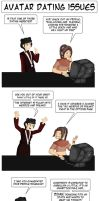 ATLA Dating Issues by vick330