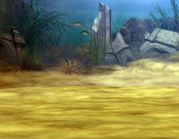 sea background stock premade by Ecathe