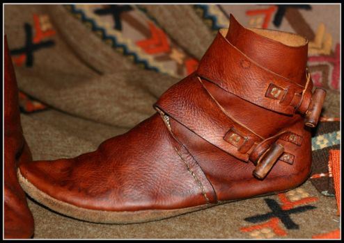 New viking shoes by VendelRus