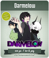 Darmelow - Youtuber Icon by Darklephise
