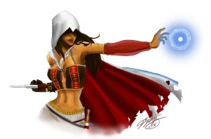 Femme Assassin's Creed by Luigigurl