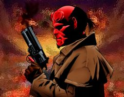 Hellboy by MaKaM