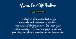 Music On - Off Button by flashdo