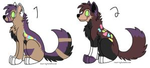 5 point pups by ZerosAdopts