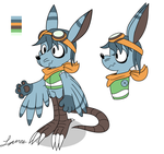 Character Concept: Quinn by Dog22322