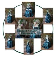 Emerald Antoinette Excl I by mizzd-stock