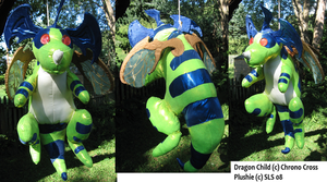 Draggy Chrono Cross Plushie by SirLadySketch