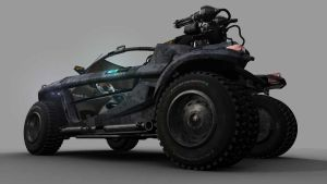 Military Vehicle by sawanprusti