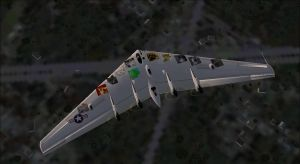 FSX XB-35 Don't fly alone by AmericanWolf016