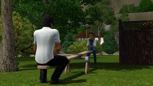 TS3: Father and Son by riezforester