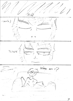 Unnamed comic Page 7 rough draft by C-Survive