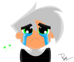 SAD DANNEH :C by EctoPhantomiix