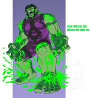 HAS: SKRULL-HULK - SKRULK by Jerome-K-Moore