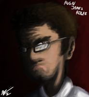 AVGN Painting by KCampbell499