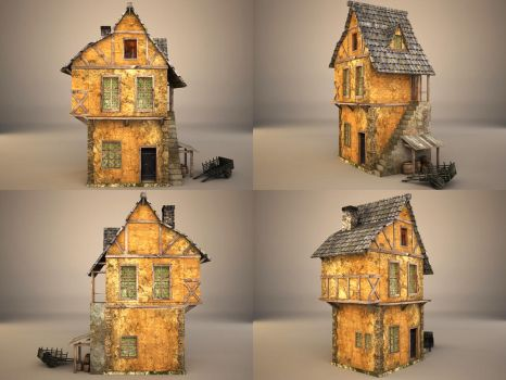 medieval house 4 by binouse49