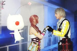 Final fantasy XIII-2. Together by DenikaKiomi