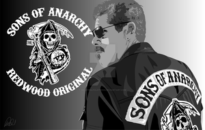 Sons of Anarchy Clay by Wearwolfclothing