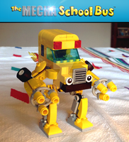 The Mecha School Bus by hiddenderek69