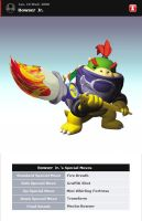 Brawl Wannabe- Bowser Jr. by clammin910
