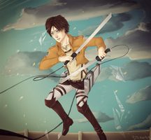 AOT: The Hunter by MrAmakat