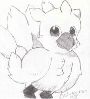 Chocobo by shewolfpup2000