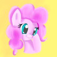 Pinkie Pie Painting by mykittyjasper