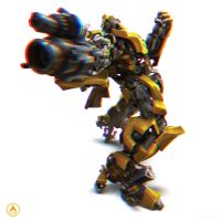 Bumblebee 3D illusion by Blissedsoul