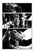 Comic doodling page thingy by bradwright