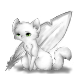 whitewing by MooncloudKitty