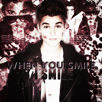 +When you smile I smile by proudlybelieber