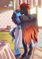 Every day is happy with you by Margony