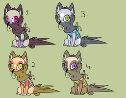HummingCat Adopts by crystalicethorn