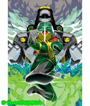 Go Green Ranger! by theCHAMBA