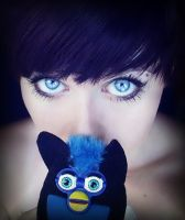 me and furby by ellenoir