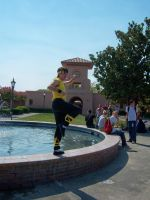 Ryoga Hibiki cosplay at Sac-Anime Summer 2012 by DearestLeader