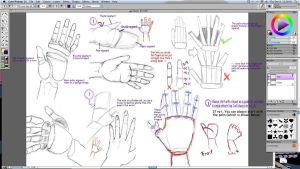 Tutorial 3: hands by Ragginess