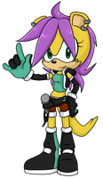 Mina the Mongoose .:AU Design:. by VeggieMadness
