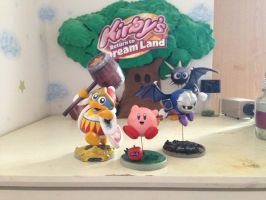 ssbb fighters-Kirby series by DinoeArchelon
