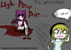 Pewdie and Cry- The Witch's House by Shadow-chan15