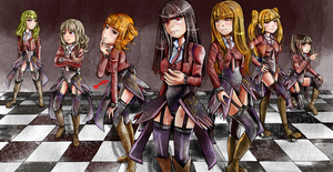 Commission: The Seven Sisters of Purgatory by FaithWalkers