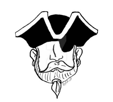 Pirate Face project by SutherlandsInk