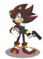 shadow the hedgehog, I'm a bad boy by shockersthetigerhog