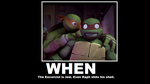 TMNT Poster: When by SpiderSenseSpiderMan