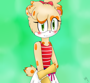 [Request for DefectiveStudios] Bella the hamster by Huffie-Artist